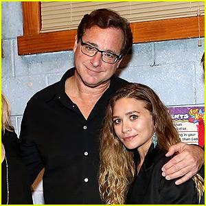 Ashley Olsen Supports Bob Saget's Return to Broadway!