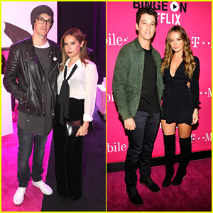 Miles Teller & Keleigh Sperry Couple Up For T-Mobile's Un-carrier X Launch