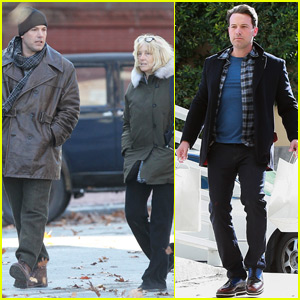 Ben Affleck Makes Time For Family While Filming 'Live By Night'
