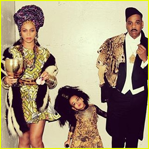 Beyonce, Jay Z, & Blue Ivy Carter Have the Best Family Halloween Costumes!