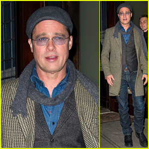 Brad Pitt Reveals Who's Cooking Thanksgiving Dinner at His House