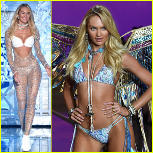 Candice Swanepoel Is Simply Angelic at Victoria's Secret Fashion Show 2015
