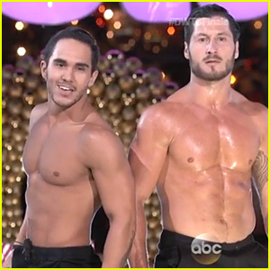 Carlos PenaVega Goes Shirtless for Sexy 'DWTS' Finale Dance!