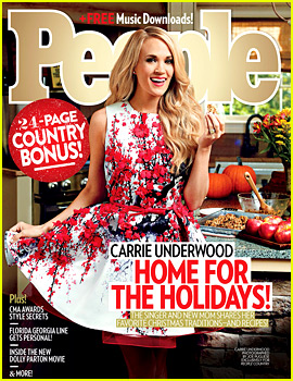 Carrie Underwood Leaves 'Ginormous' Tips on Christmas Day