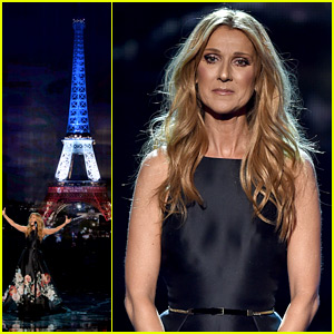 Celine Dion Performs Touching Tribute to Paris at AMAs 2015 (Video)