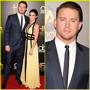 Channing Tatum & Wife Jenna Dewan Are Picture Perfect at Hollywood Film Awards 2015