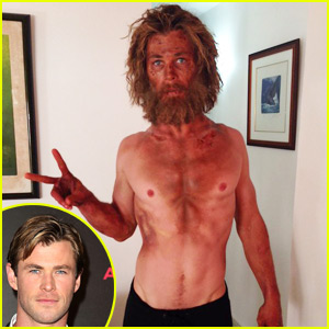 Chris Hemsworth Is Nearly Unrecognizable In His Shirtless Weight Loss Photo!