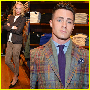 Colton Haynes, Uma Thurman & More Help Celebrate Ralph Lauren's Athlete Ally Partnership!