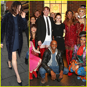 Daisy Ridley Visits 'Kinky Boots' On London's West End