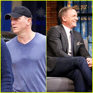 Daniel Craig Cracks Up From Seth Meyer's Bond Girl Impersonation