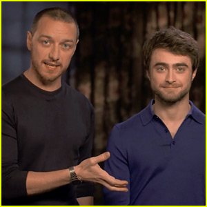 Daniel Radcliffe & James McAvoy Film Funny Skippable Ads for 'Victor Frankenstein' Trailer (Exclusive Video)