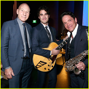 Darren Criss Performs At SAG's 30th Anniversary Event With Patrick Stewart
