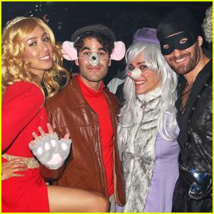 Darren Criss & Matthew Morrison Celebrate Halloween in NYC!
