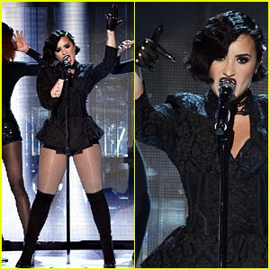 Demi Lovato's AMAs 2015 'Confident' Performance Video - Watch Now!