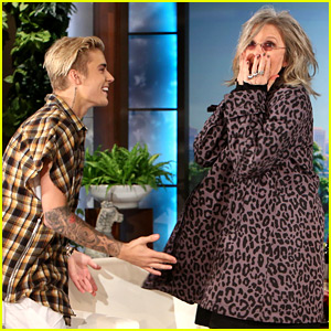 Diane Keaton Freaks Out Upon Meeting Justin Bieber! (Video)