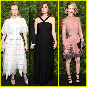 Diane Kruger & Pregnant Rose Byrne Get Glam To Honor Cate Blanchett At Film Benefit!