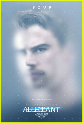 Theo James & Shailene Woodley Get Trapped In New 'Allegiant' Posters