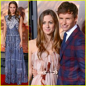 Eddie Redmayne & Alicia Vikander Bring 'Danish Girl' to L.A.