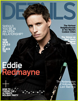 Eddie Redmayne Covers the Final Issue of 'Details' Magazine