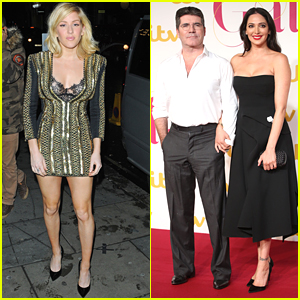 Simon Cowell & Lauren Silverman Couple Up For ITV Gala 2015