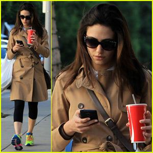 Emmy Rossum Says She Has a String Cheese Addiction