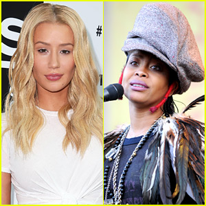 Singer Erykah Badu Throws Major Shade at Iggy Azalea at Soul Train Awards 2015 (Video)