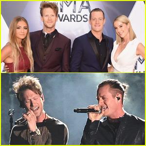 Florida Georgia Line Wins & Performs at CMA Awards 2015!