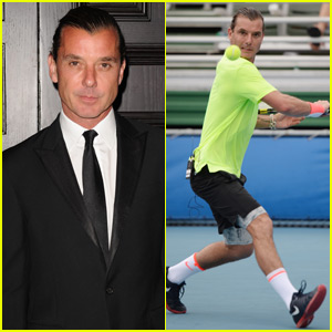 Gavin Rossdale Takes Off His Wedding Ring to Play Tennis