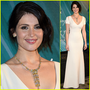 Gemma Arterton Dazzles at the 2015 Tiffany & Co. Christmas Window Revealing