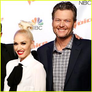 Gwen Stefani Says 'I Love You' to Blake Shelton (Video)