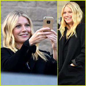 Gwyneth Paltrow is a Stylish Tourist in Barcelona