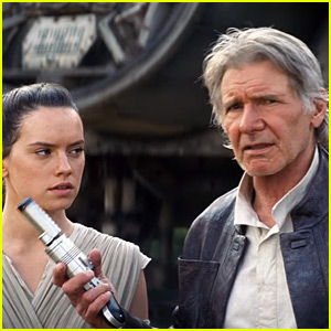 Harrison Ford Gets Into Action in New 'Star Wars' TV Spot