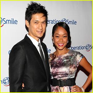 Glee's Harry Shum, Jr. Married to Longtime Love Shelby Rabara!