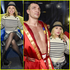 Hayden Panettiere Makes First Public Appearance at Wladimir Klitschko's Fight After Postpartum Depression Treament