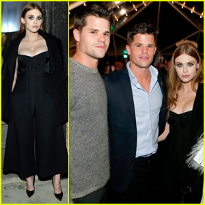 Holland Roden & Max Carver Couple Up for August Getty Atelier