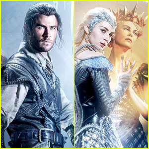 'The Huntsman' Teaser Trailer & Posters Revealed - Watch Now!