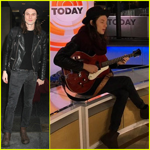 James Bay Brings 'Let It Go' to 'Today' in New York City (Video)
