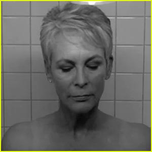 Jamie Lee Curtis Recreates Mom's 'Psycho' Shower Scene!