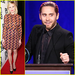 Jared Leto & Kirsten Dunst Help Honor At PEN Center USA's Literary Awards Fest!