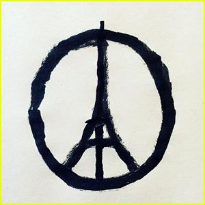 Jean Jullien's Eiffel Tower Sketch Becomes Paris' Peace Symbol