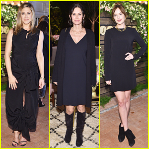 Jennifer Aniston, Courteney Cox & Dakota Johnson Celebrate Jennifer Meyer's Exclusive RTW Collection!