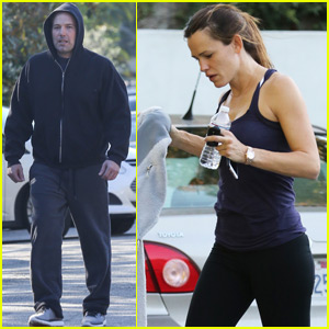 Jennifer Garner & Ben Affleck Get Their Fitness On