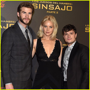 Jennifer Lawrence Stuns in Black for 'Hunger Games' Madrid Premiere!