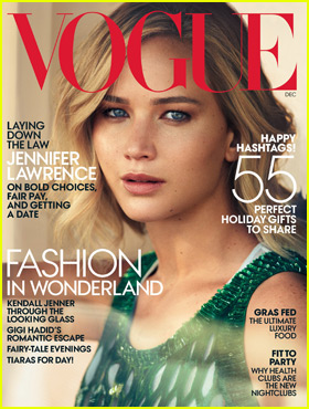 Jennifer Lawrence Talks Marriage for 'Vogue' December 2015