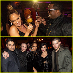 Jennifer Lopez & Ex Sean Combs Reunite At AMAs After Party!