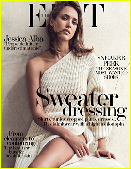 Jessica Alba Talks Sexism & Being a Lone Wolf for 'The Edit'