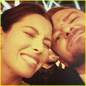 Justin Timberlake & Jessica Biel Make the CMAs 2015 a Date Night!