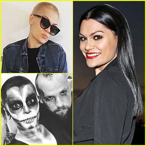 Jessie J Shaved Off All Her Hair - See Her New Look!  sc 1 st  Just Jared & Jessie J Shaved Off All Her Hair u2013 See Her New Look! | 2015 ...
