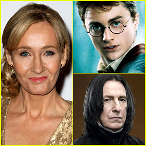 J.K. Rowling Reveals Why Harry Potter Named His Son After Snape