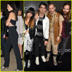 Joe Jonas Parties With DNCE at Diddy's Birthday Party
